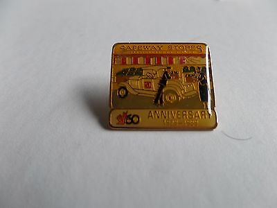 Canada Safeway Limited 60th Anniversary Staff pin 1929-1989 Vintage Truck Pin