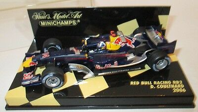 F1 1/43 Red Bull Rb2 Coulthard 2006 Minichamps