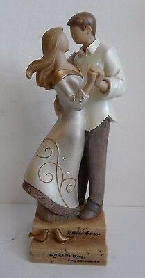 Wedding Gift Legacy of Love by Kim Lawrence ROMANTIC LOVE Enesco Wedding