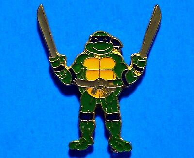 Teenage Mutant Ninja Turtles - Leonardo - Vintage Lapel Pin - Pinback - # A
