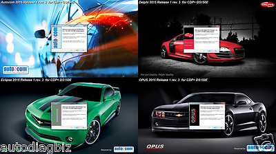 Latest 2015.1 R3 Diagnostic Software for CDP+ TCS Cars and Trucks  ONLY ON DVD !