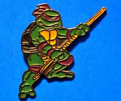 Teenage Mutant Ninja Turtles - Donatello - Vintage 1989 Mirage Lapel Pin - # B