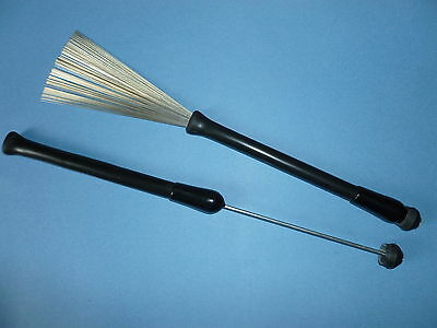 Retractable Wire Drum Brushes (Ball End) original premier percussion  model