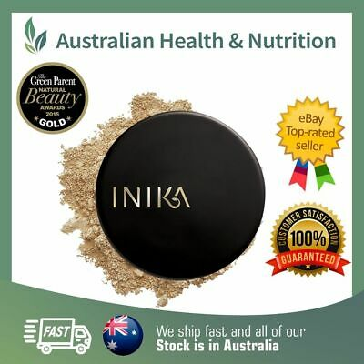 Inika Organic Mineral Foundation Powder Spf15+ All Available + Free Sample