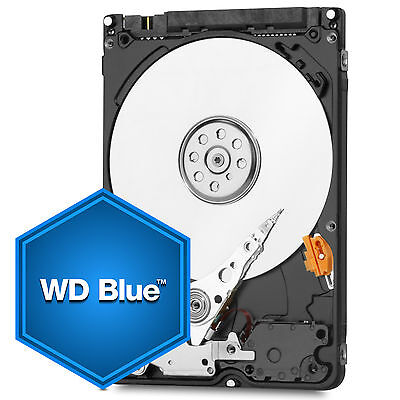 "WD Blue 2.5"" Internal HDD 500GB/750GB/1TB/2TB SATA3/III Laptop Desktop Enclosure"