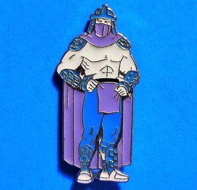 Teenage Mutant Ninja Turtles - Shredder - Oroku Saki - Rare Vintage 1990 Pin