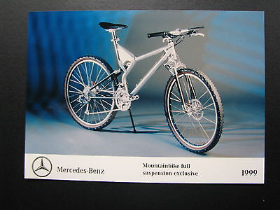 Photo Mercedes-Benz Mountainbike Full Suspension Exclusive 1999 (MBC)