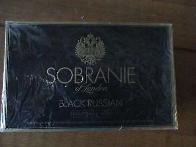 Late 70s early 80s 10 pks Carton of Sobranie Black Russian Factory Sealed LIVE