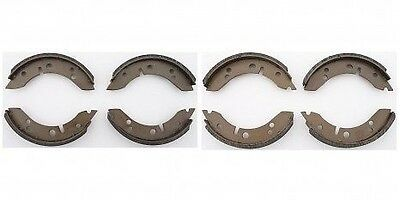 "MORRIS MINOR CAR BRAKE SHOE SET FRONT & REAR  (7"" FRONT EARLY) 1952 to 1962"