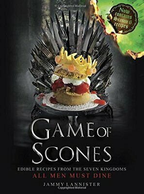 Game of Scones: All Men Must Dine by Lannister, Jammy Book The Cheap Fast Free