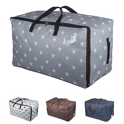DOKEHOM 100L Thick Ultra Size Storage Bag with Strong Handles Grey -Others Avail