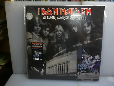 Iron Maiden-A War Horse Of Steel. London, Uk 1980.-2Lp Red Vinyl-New. Sealed