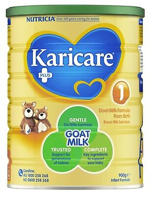 BRAND NEW Karicare Plus Goat Milk Infant Formula 900g - Breastfeeding Specialist