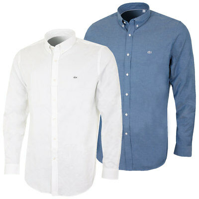 Lacoste 2017 Mens CH5891 Long Sleeved Button Down City Shirt