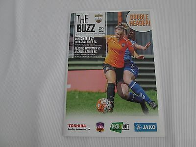 2016-17 WOMENS SUPER LEAGUE 2   LONDON BEES v CHELSEA + READING v ARSENAL LADIES
