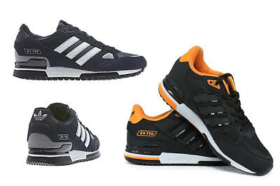ADIDAS ORIGINALS ZX 750 MENS RUNNING TRAINERS NAVY and Black colour