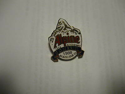 15th Alpine Lager Bonspiel 1988 Beausejour N.B.  pin