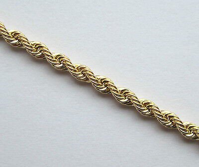 New 9ct Gold Pendant Rope Chain Necklace 18 inch 1.90 grams £74.99 Freepost