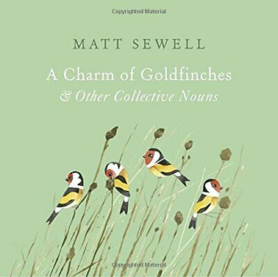 A Charm of Goldfinches and Other Collective Nouns by Sewell, Matt Book The Cheap