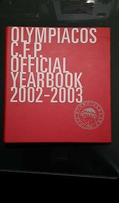 ***yearbook 2002/2003 Olympiakos Ufficiale***