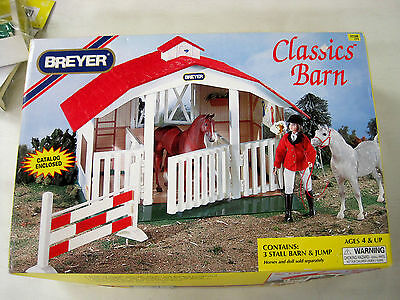 Breyer Ponies Classic Barn #650 Vintage New In Box Horse Show