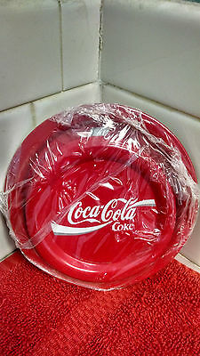 """Coca-Cola Metal Coaster set STILL FACTORY SEALED  3.5"""" Round New Old Stock!"""
