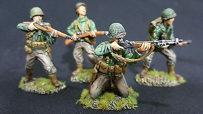 CONTE/Airfix/TSSD/ 1/32 professionally painted American infantry. WW2 plastic.