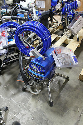 Graco 490 Ultimate PC Pro Stand Electric Airless Sprayer 826199 Pro Connect