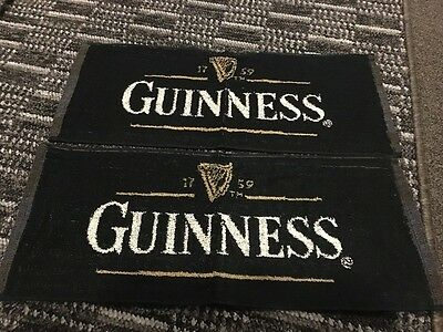 Brand New Guinness Bar Towels X 2
