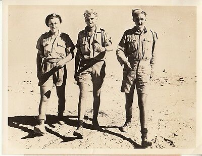 Original Press Photo NAMED BRITISH SOLDIERS Escaped from GERMAN PRISON CAMP 1941