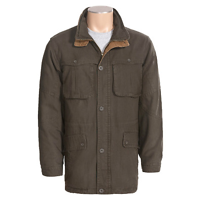 Browning Fremont Ranch/Field Jacket - Men's Size M - Washed Cotton Canvas
