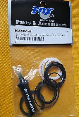 FOX 803-00-142 Kit Rebuild Float Line Air Sleeve Special O-Ring