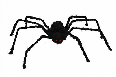 Spider 50 Inches Long Hairy Poseable Legs Halloween Decoration Funworld