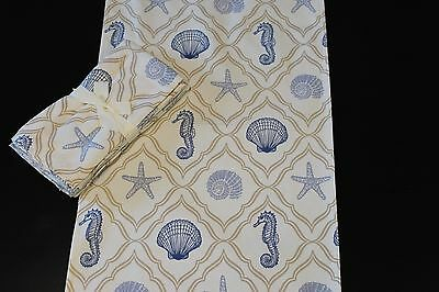 Oceandrift Blue Table Runner & Napkin Set