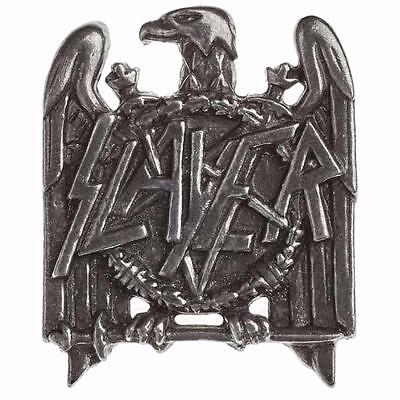 Alchemy Rocks Slayer Eagle Logo Metal Pin Badge Brooch Pewter Official Merch