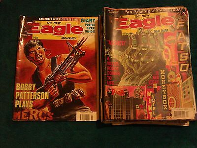 Eagle, Dan Dare, Large Collection of Comics - from the 90s  (Rare)