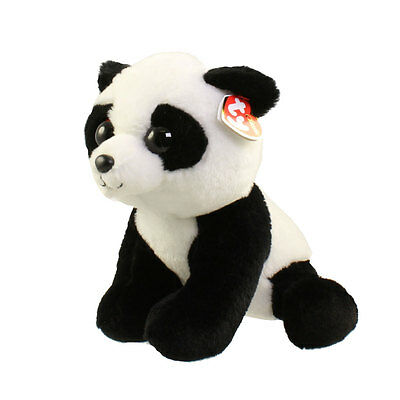TY Classic Plush - BABOO the Panda (9.5 inch) - MWMTs Stuffed Animal Toy