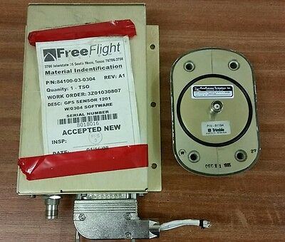 Free Flight 1201 WAAS GPS Receiver 84100-03-0304 with antenna 81194
