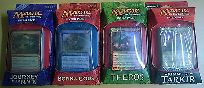 Magic the Gathering - Intro Packs - Lot of 4 Intro Packs ENG (Mint, Sealed)