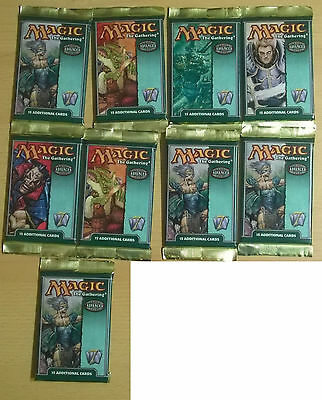 Magic the Gathering - Seventh Edition - 9 Advanced Booster Packs (Mint, Sealed)