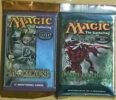 Magic the Gathering - Apocalype & Fünfte Morgenröte Booster Pack (Mint, Sealed)
