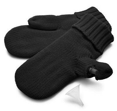 *NEW DCI Hidden Flask Mittens Holds 4oz Flask in one Mitten, One Size Fits Most