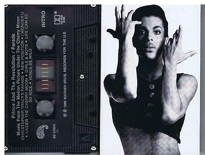 Prince -  Parade (Music from Cherry Moon ) - Cassette Tape - Canada