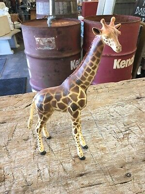 "Vintage~9.5"" molded Giraffe ~Exotic & Graceful African Beauty"