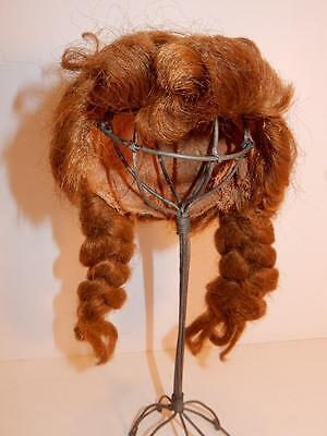 """Ideal Saucy Walker Doll Vintage Doll Wig Hair Braids 1950S For 16"""" Doll"""