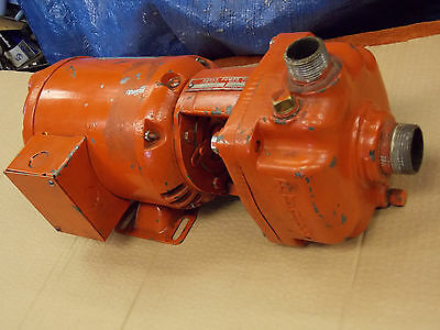 "BURKS 1/3 HP CAST IRON Centrifugal  TURBINE PUMP 1"" X 1-1/4"" 334CS7M 230/460 3Ph"