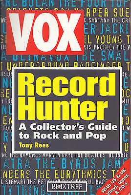 Buch RECORD HUNTER Tony Rees | A Collector's Guide to Rock and Pop Rare Records