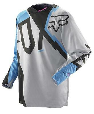 Fox MX Mens Fallout 360 Jersey - Blue Motocross offroad trail enduro