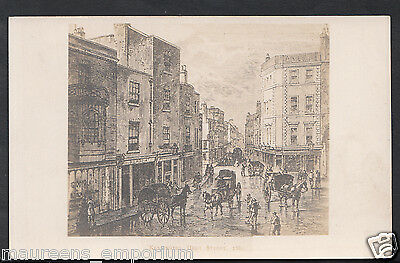 London Postcard - Kensington High Street 1860 - RS607