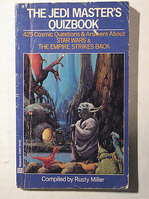 The Jedi Master's Quizbook - 1982 -425 Questions/Answers Star Wars, ESB